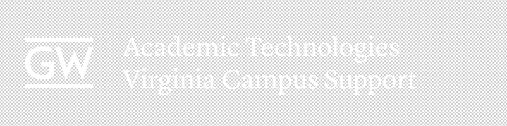AT VSTC Support logo white