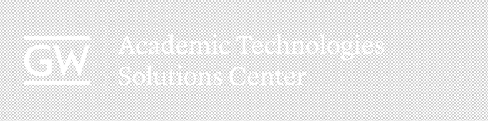 AT Solutions Center logo white