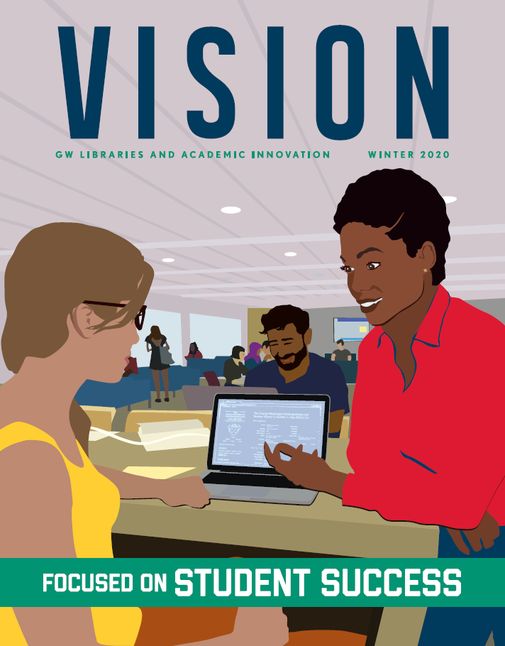 Cover of PDF of Vision Magazine 2020