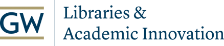 GW Libraries and Academic Innovation logo