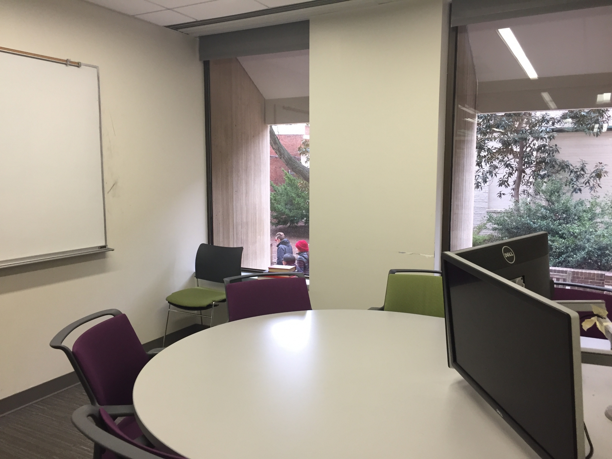 Gelman Library Consultant Room 209 Capacity 5 people