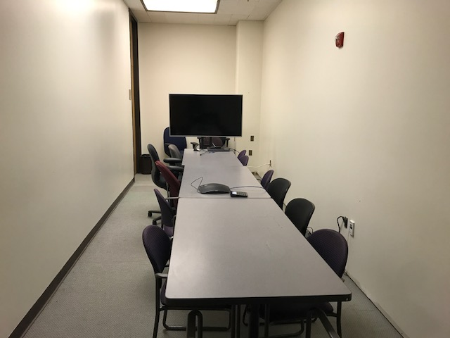 Gelman Libray Conference Room 106 Huddle space