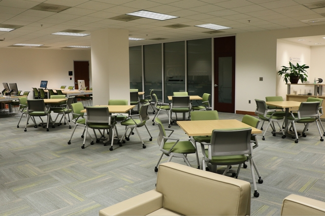 Faculty Lounge space