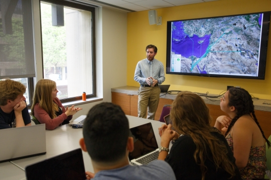 Geographic Information Systems workshop